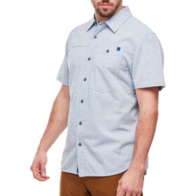 Black Diamond Chambray Modernist SS Shirt Herr blue steel